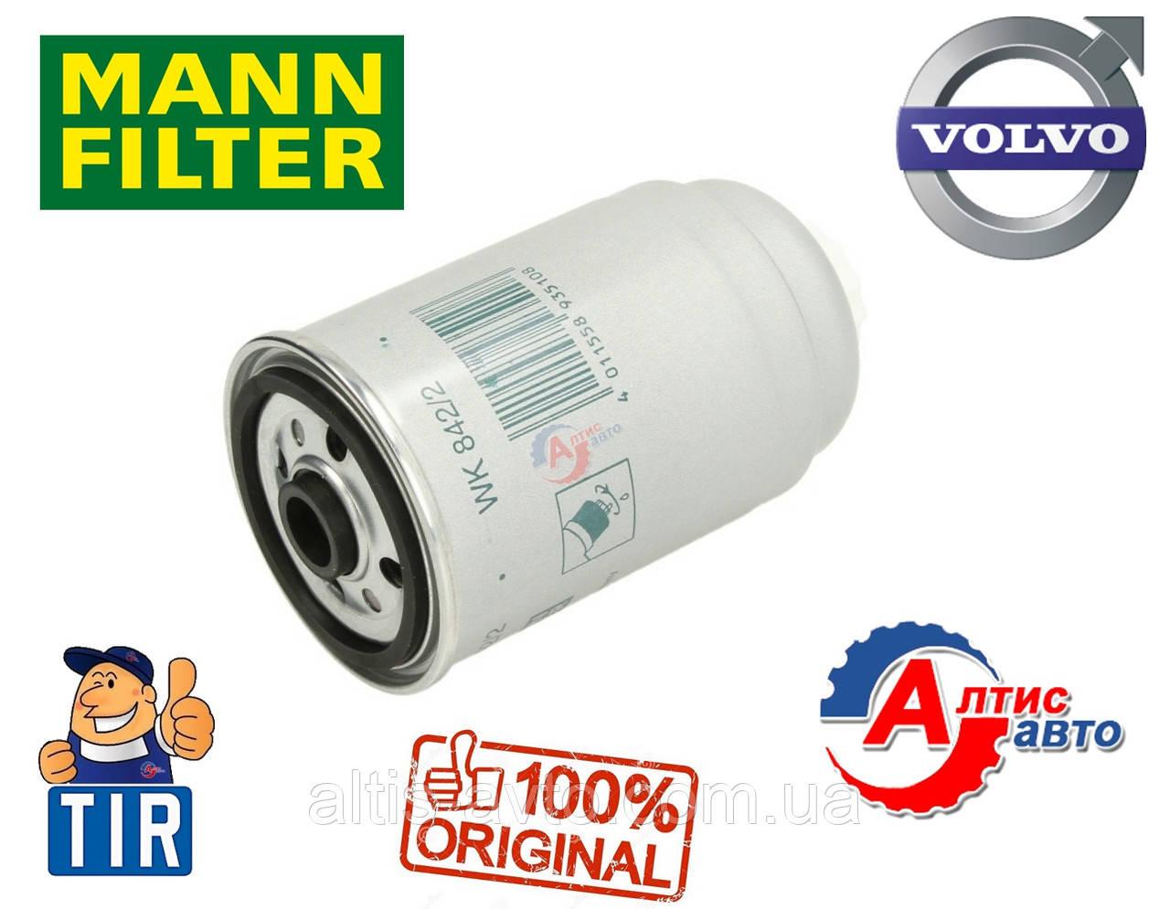 Фильтр топливный Volvo FLC, FL 6 7 очистка дизеля двигателя Mann Filter 829993