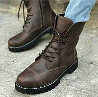 Мужские высокие ботинки Chekich CH009 Dark Brown