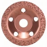 Круг шлифовальный  (чашка) НМ.115мм грб.накл.//Bosch