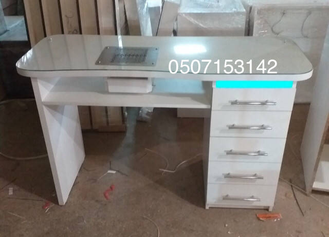 Маникюрный стол V281 с мощной вытяжкой Teri Turbo c НЕПА фильтром для Павла