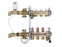 Распределительный коллектор Herz Compactfloor Light - 3 выхода (без насоса)