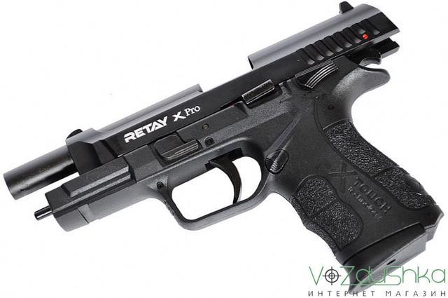 Сигнальный пистолет retay Xpro black на затворной задержке