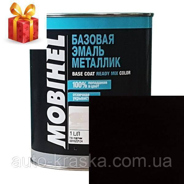 Автокраска Mobihel черная D01(металлик) 1л.