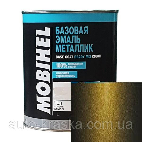 Автокраска Mobihel металлик 347 Золото Инков.0.1Л