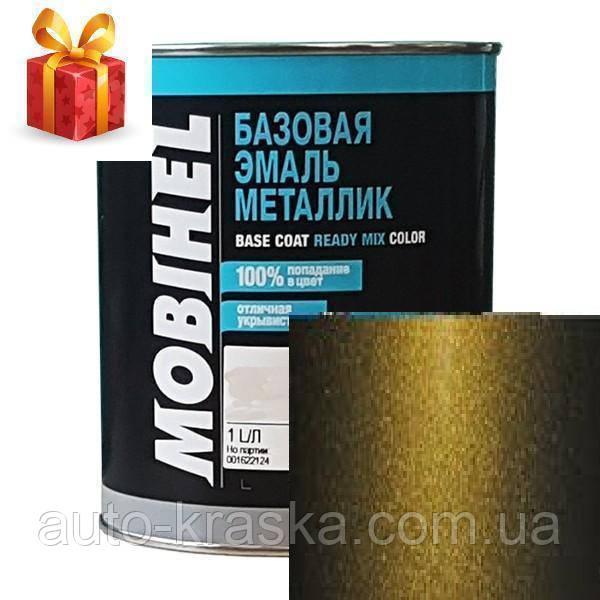 Автокраска Mobihel металлик 347 Золото Инков1л.