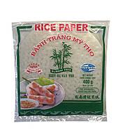 Бумага рисовая для спринг-роллов 33 листов (+/- 3шт) 22 см BANH TRANG MY THO Tufoco 340 г
