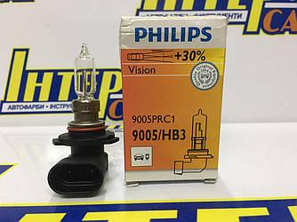 Галогенная автолампа Philips Vision HB3 12V 9005PRC1