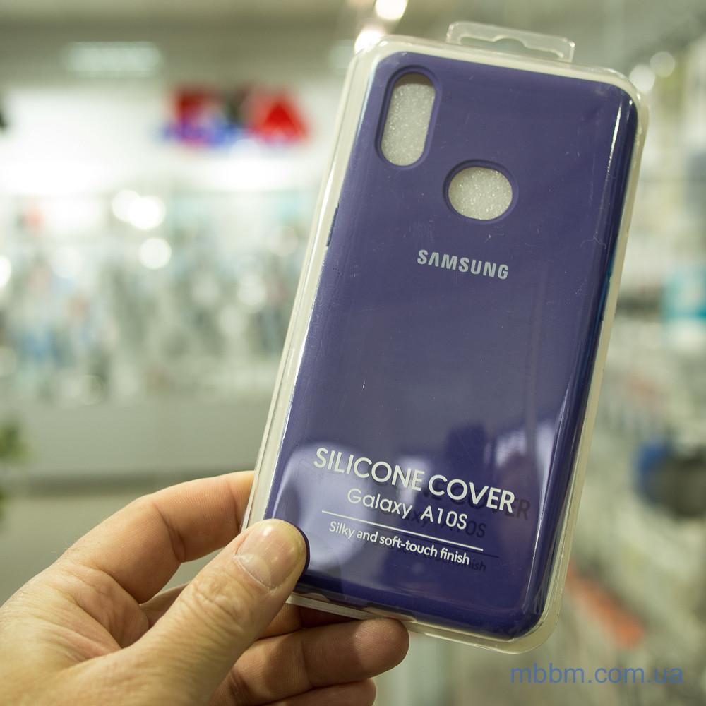 Чехлы для Samsung Galaxy A10s Original Soft фиолетовый Purple
