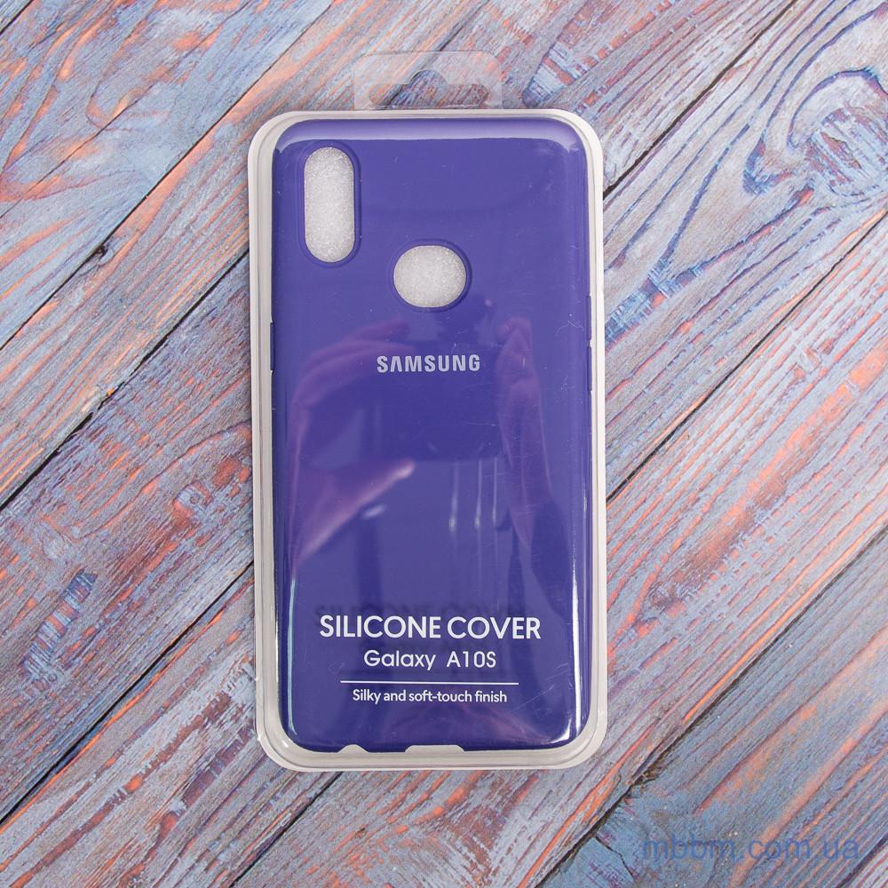 Чехол Original Soft Samsung A10s фиолетовый/Purple