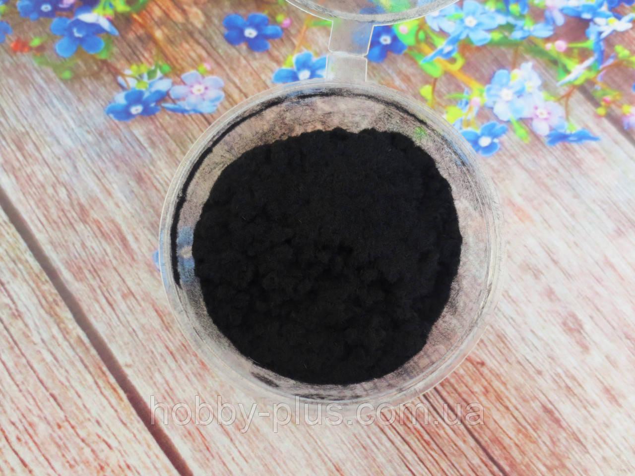 Ворсовой порошок (бархатная пудра, флок) ЧЕРНЫЙ, 5 грамма