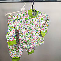 Теплая детская пижама Начес | Тепла дитяча піжама