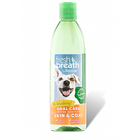 Добавка в воду Тропиклин с Омега 3 и 6 уход за полостью рта кошек Tropiclean Fresh Breath Oral Care