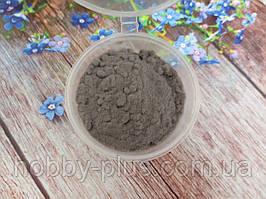 Ворсовой порошок (бархатная пудра, флок) СЕРЫЙ, 5 грамм
