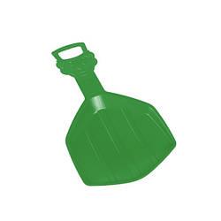 Зимові санки-лопата Plastkon Klaun зелені