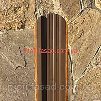 Штакетник Дуб 3Д Корея 105мм 115мм евроштакетник штакет, фото 3