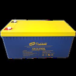 Герметичний свинцево-кислотний акумулятор Pulsar CS12-200D