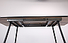 """Стол Orlando раскладной 1200(1600)*800*760 мм черный/МДФ дуб шервуд ТМ """"AMF"""", фото 5"""
