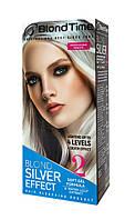 Краска осветлитель для волос до 4 тонов + Серебряный эффект №2