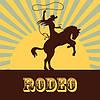 Вибратор Rodeo  фаллоимитатор с вращением на присоске, фото 2