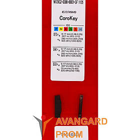 Пластина Sandvik N123G2-0300-0003-GF 1125