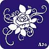Трафареты для Био Тату (А 1) Цветы