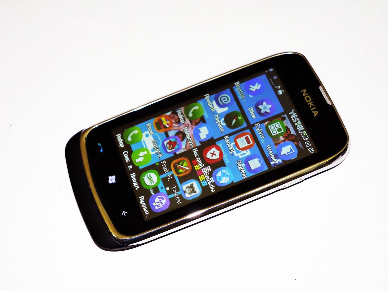 """Телефон Nokia Lumia 610 Черный - 2Sim+ 3,6"""""""