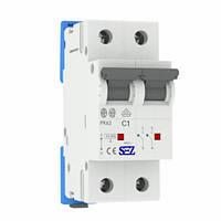Автоматический выключатель SEZ PR62 C1A 2P 10kA