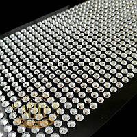 Самоклеящиеся акриловые стразы 3 мм, цвет Crystal, 1040 штук