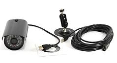 Внешняя цветная камера видеонаблюдения уличная HLV USB PROBE L-6201D