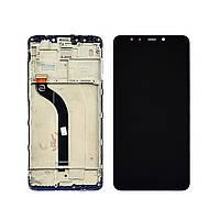 Дисплей для XIAOMI Redmi 5 с чёрным тачскрином и корпусной рамкой (ID:22825)