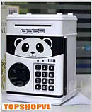 Сейф копилка панда с купюроприемником, фото 2