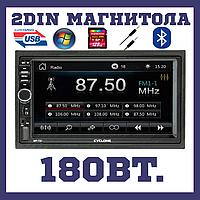 Автомагнітола з екраном 7 дюймів, блютуз Cyclone mp-7027