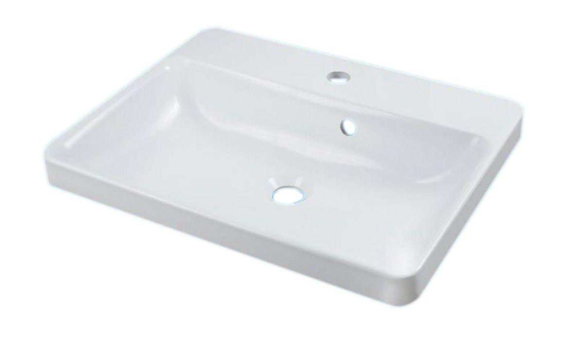 Умывальник накладной Fancy Marble GRETA 550х430