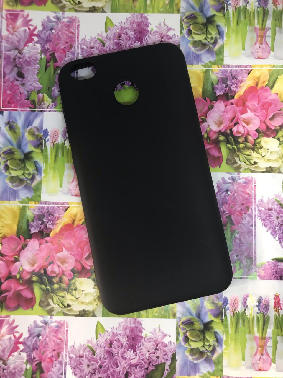 Xiaomi Redmi 4X чехол цветной матовый силиконовый