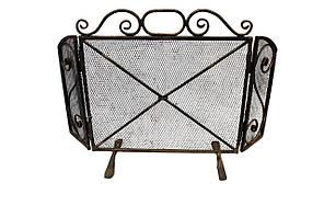 Кованная каминная решетка защитный экран