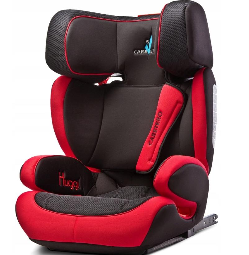 Автокресло Caretero Huggi 15-36 кг Isofix(красный)
