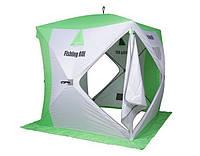 "Палатка для зимней рыбалки ""Fishing ROI"" Cyclone Куб (180*180*205см) white-green"
