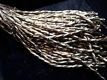 Стеклярус кручений Gold 10 ниток 8см