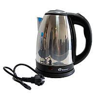 🔝 Электрочайник Домотек MS-5006 1500W 2L | чайник электрический ( нержавейка ) с доставкой по Украине | 🎁%🚚