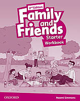 Рабочая тетрадь Family and Friends 2nd Edition Starter Workbook
