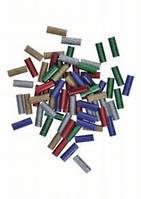 Клей для термопистолета 7х20мм (цветные с блестками),стержни 70шт//Bosch