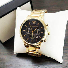 Наручные часы Emporio Armani Gold-Black
