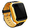 Дитячі розумні смарт годинник з GPS трекером Smart Baby Watch Q528 Yellow, фото 4