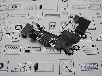 БУ.Orig iPhone SE шлейф с микрофоном и разьемом зарядки