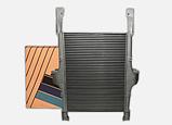 Интеркулер IVECO STRALIS TRAKKER воздушный радиатор ИВЕКО СТРАЛИС ТРАККЕР, фото 8