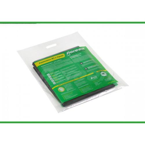 Агроволокно Agreen черное Р-50  для мульчирования без перфорации в пакетах