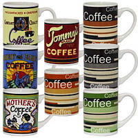 Чашка фарфоровая кофе 230мл SNT