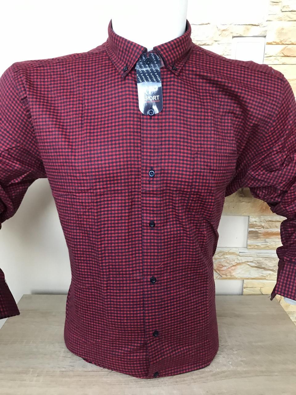Мужская рубашка кашемир X-Port