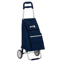 Сумка-тележка хозяйственая на колесах 45л ARGO - синий цвет