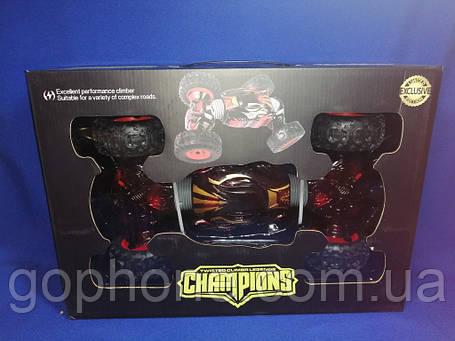 Машинка перевертыш на радиоуправлении Champions (35СМ RED), фото 2
